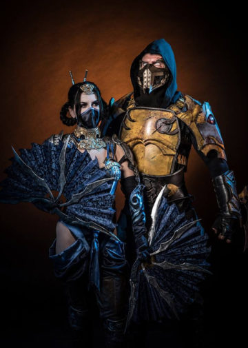 Kitana vs. Scorpion | Mortal Kombat X