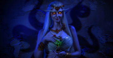 Królowa Azshara | World of Warcraft