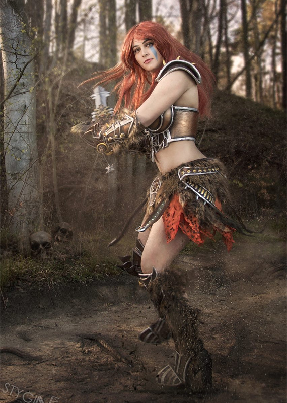 Female Barbarian | Diablo III