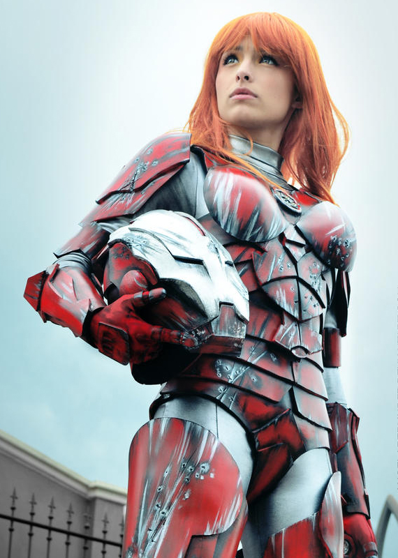 Pepper Potts w Rescue Armor | Marvel