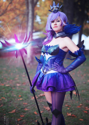 Dark Elementalist Lux | League of Legends