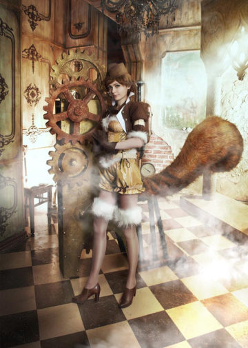 Steampunk Squirrel Girl | Marvel / Steampunk