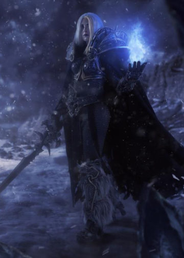 Jaina Lich Queen | Warcraft: Nightmares