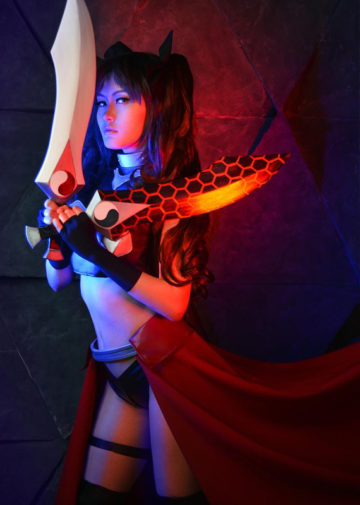 Rin Tohsaka wersja Archer | Fate/stay night: Unlimited Blade Works