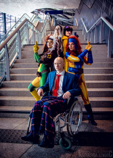 Storm, Jubilee, Rogue, Jean Grey, Xavier | X-Men