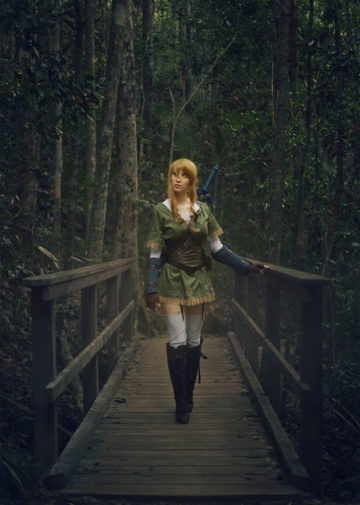 Lady Link z The Legend of Zelda