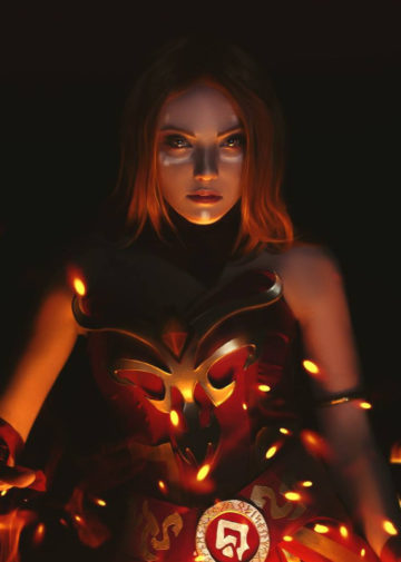 Lina the Slayer z Dota 2