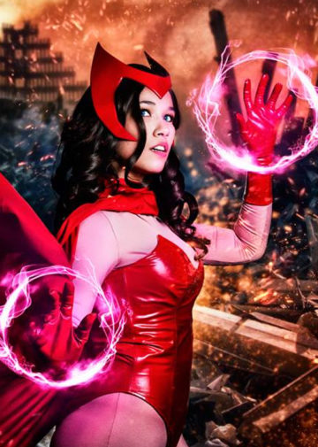 Scarlet Witch z Marvel Universe
