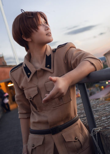 South Italy z Axis Powers Hetalia