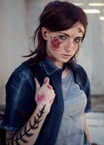 Ellie z The Last of Us Part 2