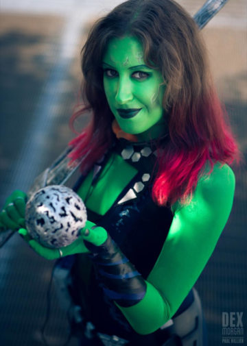 Gamora z Guardians of the Galaxy