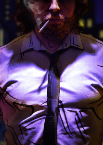 Bigby Wolf z The Wolf Among Us