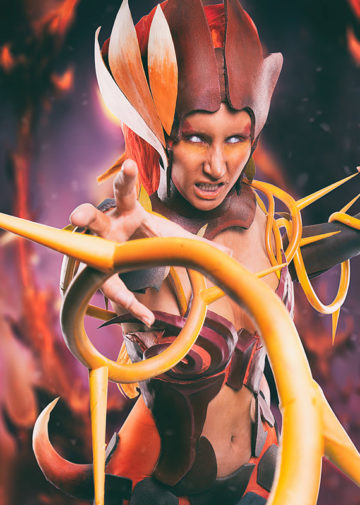 Wildfire Zyra z League of Legends