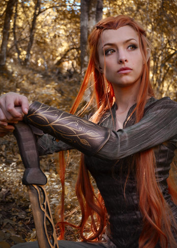 Tauriel z The Hobbit