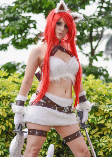Katarina Kitty Cat z League of Legends