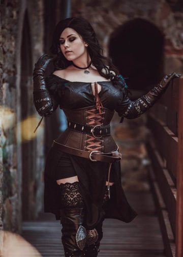 Yennefer z The Witcher
