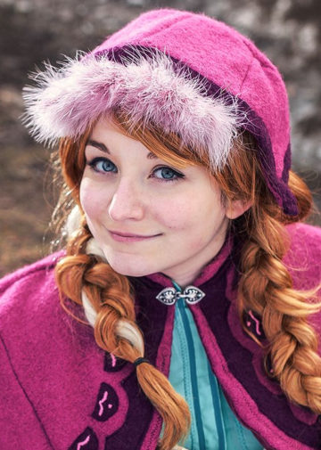 Princess Anna z Frozen
