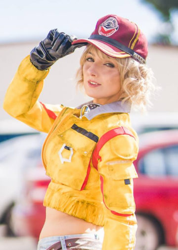 Cindy Aurum z Final Fantasy XV