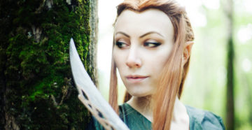 Tauriel z The Hobbit: The Desolation of Smaug