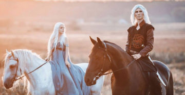 Daenerys i Viserys z Game of Thrones