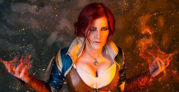 Triss z The Witcher 3: Wild Hunt