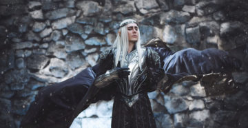 Thranduil z The Hobbit: The Battle of the Five Armies