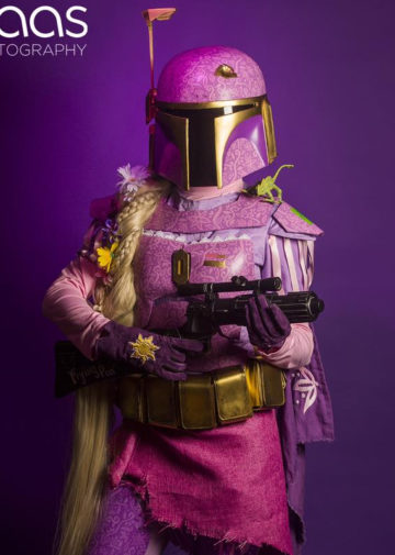 Rapunzel Fett z Disney/Star Wars