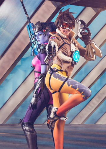 Widowmaker i Tracer z Overwatch