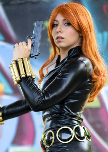 Black Widow z Marvel