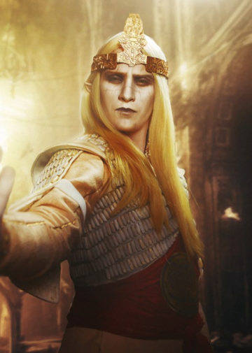 Prince Nuada z Hellboy II: The Golden Army