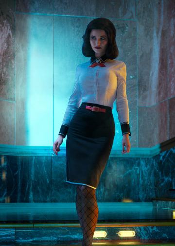Elizabeth z BioShock Infinite: Burial at Sea