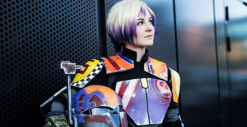 Sabine Wren z Star Wars Rebels