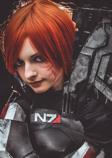 Commander Shepard z Mass Effect 3