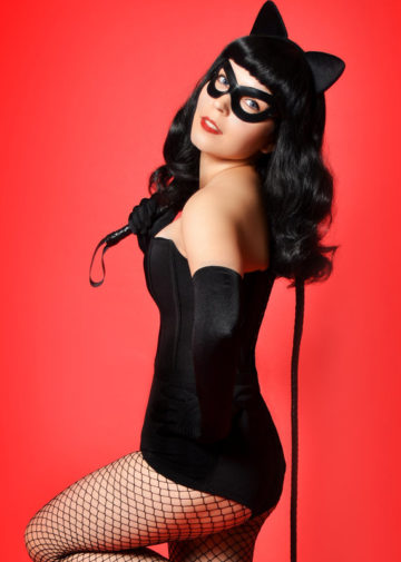 Rockabilly Catwoman z DC Universe