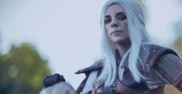 Female Geralt z The Witcher 3: Wild Hunt