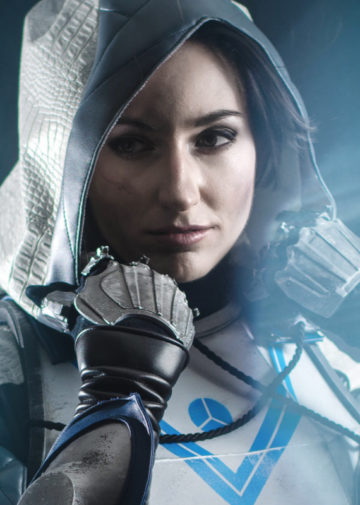 Huntress z Destiny 2