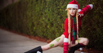 Christmas Cammy z Street Fighter