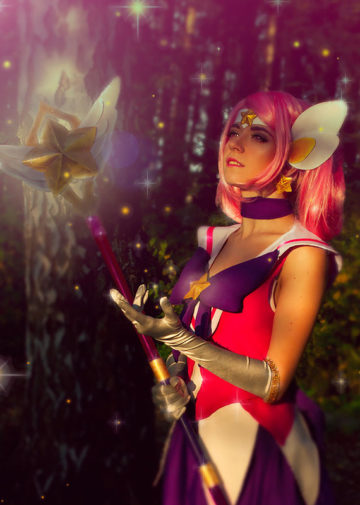 Star Guardian Lux z League of Legends