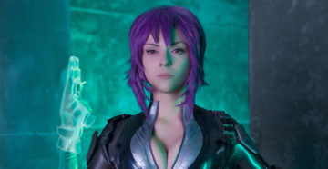 Motoko Kusanagi z Ghost in the Shell: Stand Alone Complex - First Assault