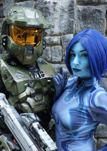 Master Chief i Cortana z Halo