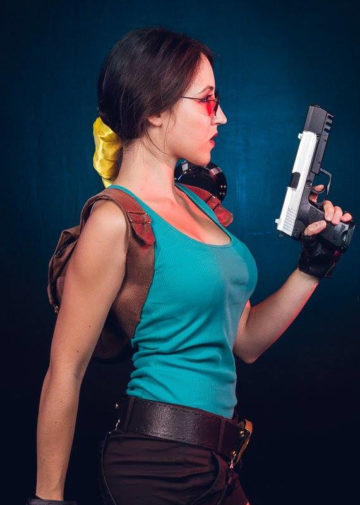 Lara Croft z Tomb Raider