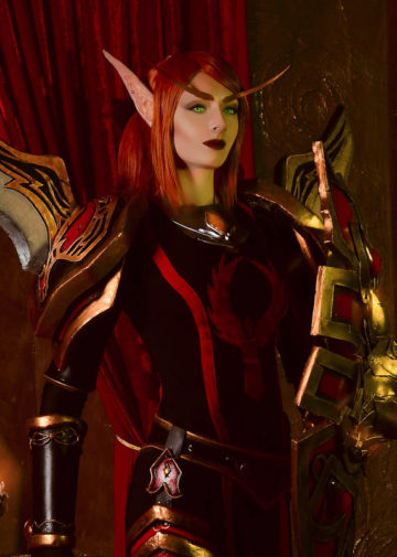 Lady Liadrin z World of Warcraft