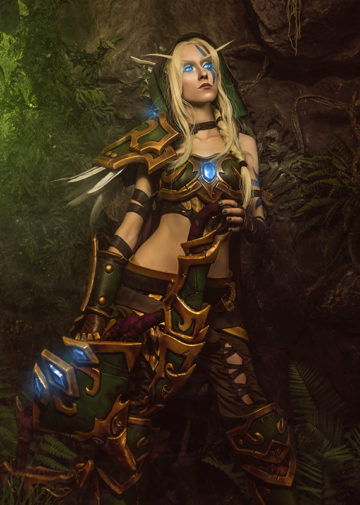 Alleria Windrunner z World of Warcraft