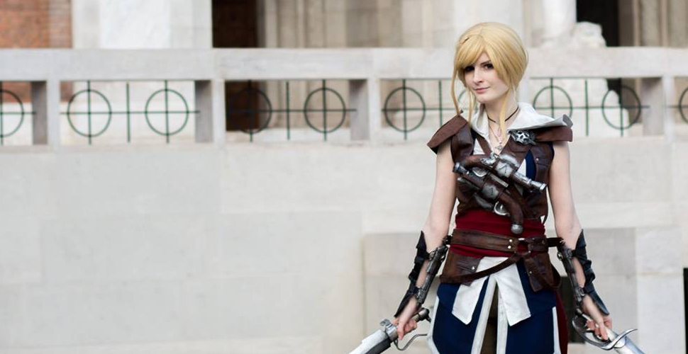 Female Edward Kenway z Assassin's Creed IV: Black Flag
