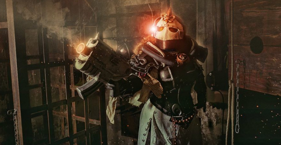 Siostra Ursula z The Order of the Ebon Chalice z Warhammer 40k