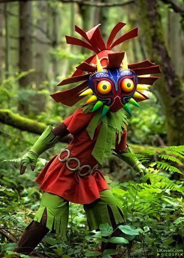 Skull Kid z The Legend of Zelda