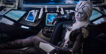 Jaylah z Star Trek Beyond