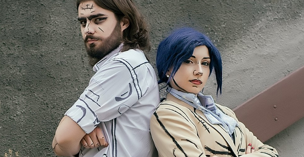 Bigby Wolf i Snow White z The Wolf Among Us