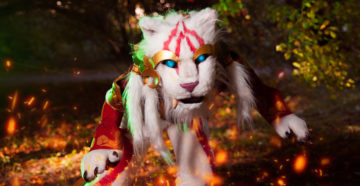 Warring Kingdoms Nidalee cougar z League of Legends