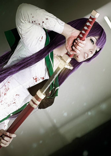 Busujima Saeko z Highschool of the Dead
